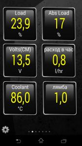 OBD2 Raum. Датчики