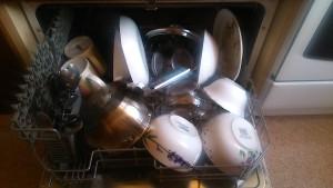 CDFC 6 с посудой внутри