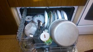 CDFC 6 с посудой