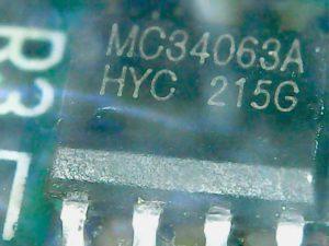 Микросхема MC34063A