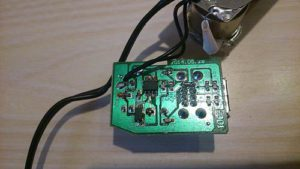 Плата зарядки USB автомобильного разветвителя