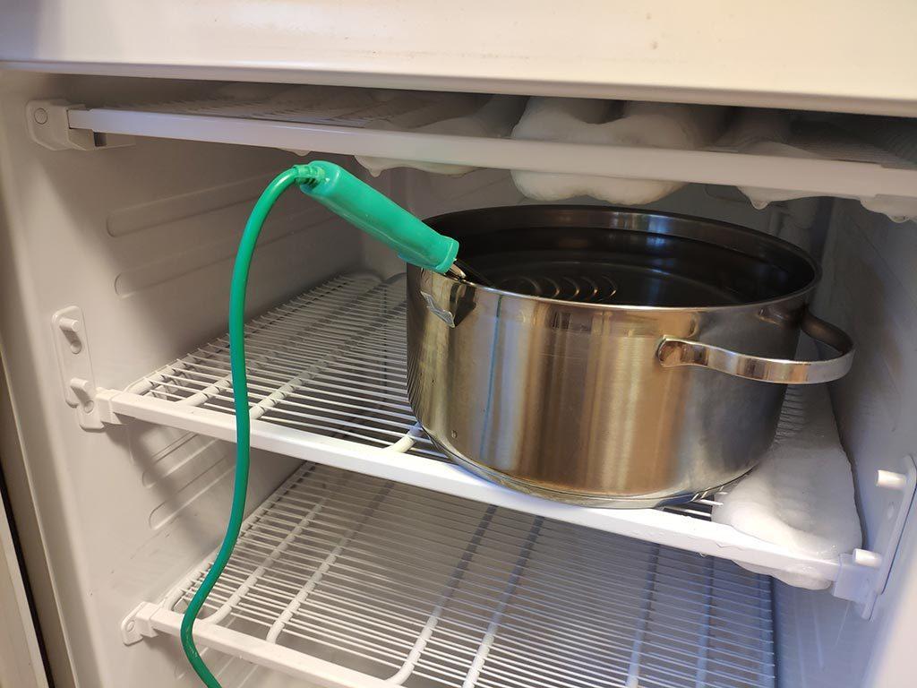 разморозка холодильника